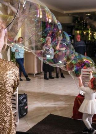 Шоу мыльных пузырей Чернигов