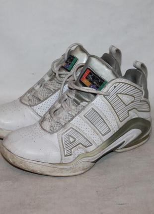 Кожаные кроссовки nike air 42-43 размер 100% натуральная кожа