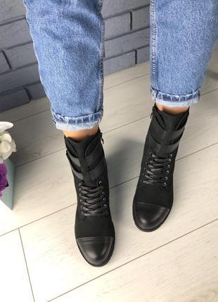 Lux обувь! распродажа! крутые зимние натуральные ботинки шлейк...
