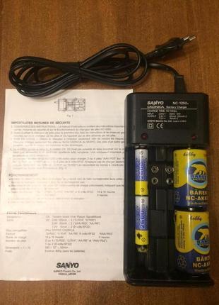 Зарядное многофункциальное устройство Sanyo NC-1250h