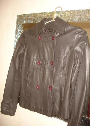 Куртка женская кожа натуральная размер 44/10