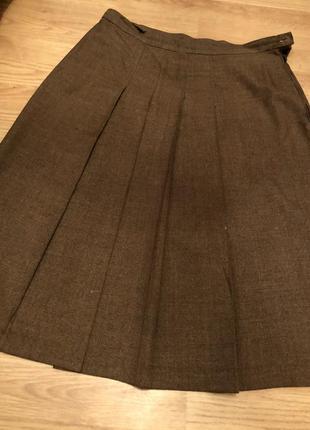 Плотная ткань/ тёплая юбка размел ххл-хххл