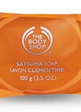 #розвантажуюсь the body shop satsuma soap мыло