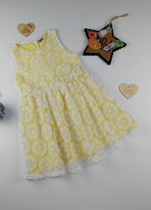 Платье на 6-7 лет, рост 122 см