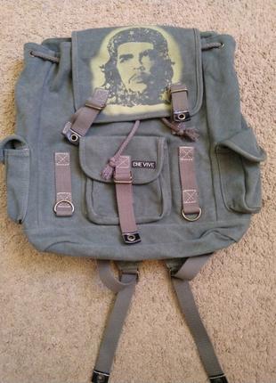 """Рюкзак """"Che Guevara"""", новый брезентовый."""
