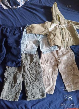 Набор штанишек на годик