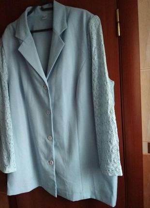 Пиджак/блейзер/жакет женский батальный размер