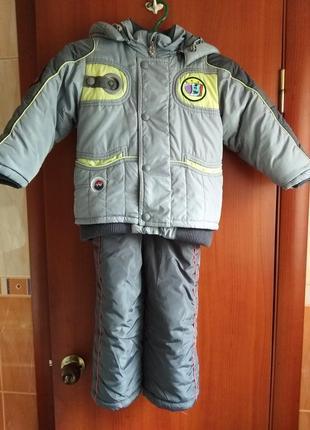 Зимняя куртка и комбинезон/wewins(польша)