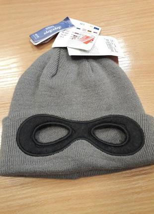 Шапка с очками h&m 2-8лет