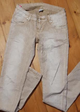 Жаккардовые джинсы, брюки, штаны, пуш-ап