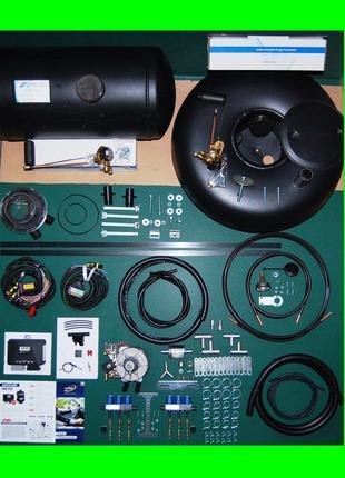 (ціна без балона) Комплект ГБО 4 на 8-цил Інжектор - KME/Tomasett