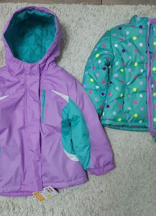 Куртка на девочку два в одном Healthtex. 3т. Распродажа.
