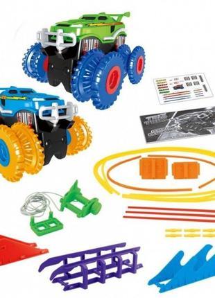 Монстр трак популярный игрушечный трек Trix Trux 1938 (2 машинки)
