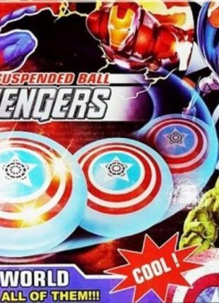 Летающий футбольный мяч Heroes 789-14, Avengers