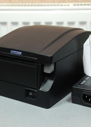 CITIZEN CT-S651 термотринтер чеков 83мм чековый с автообрезчиком