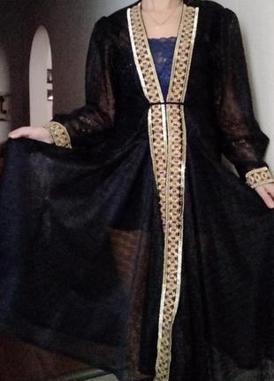 Карнавальное платье, халат  середнековый