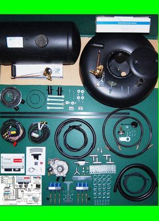 (ціна без балона) Комплект ГБО 4 на 6-цил Інжектор - STAG 300-6 Y