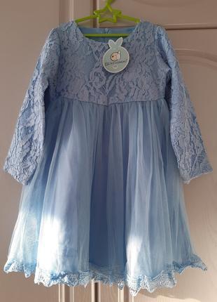 Платье для девочки на 4-5 лет  110см.