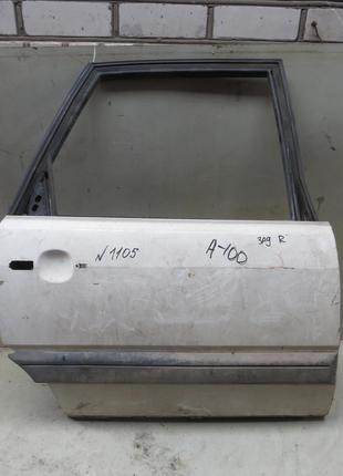 Дверь зад правая Audi 100 C3 (82-91)