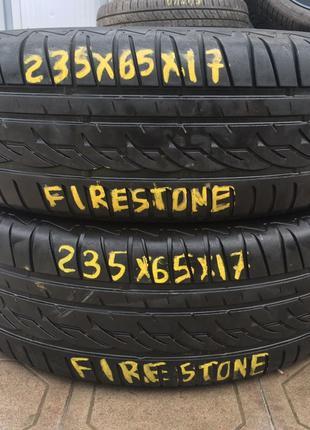 235 65 R17 Firestone Bmw x3 x5 mercedes ML GL Kia Nissan