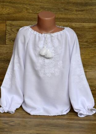 Вишиванка, сорочка вишиванка, вышиванка 6-8 лет