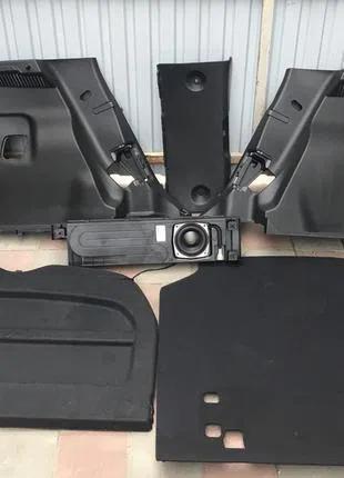 Панель багажник полка сабвуфер Nissan Leaf 18- 84950-5SA0B
