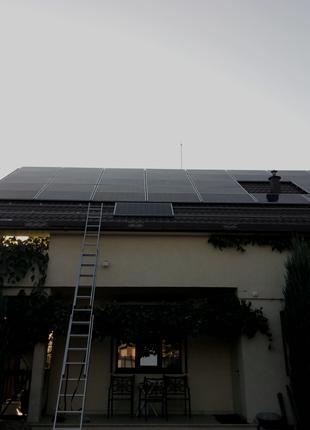 Монтаж солнечных станций