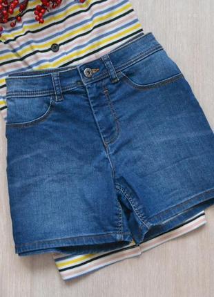 Короткие джинсовые шорты jdy denim