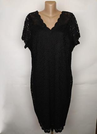 Платье шикарное кружево гипюр по фигуре большой размер george ...
