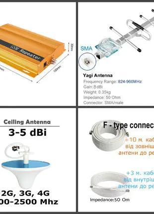 Усилитель сотовой связи, частота GSM 900 Мгц