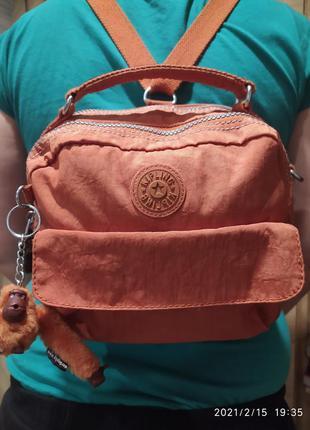 Трансформер  сумка - рюкзак kipling