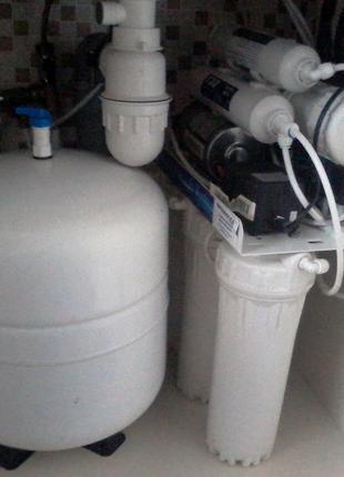 Установка и замена фильтров для воды