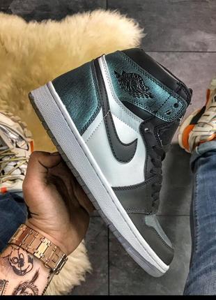 Nike air jordan 1 retro high og, шикарные мужские кроссовки на...