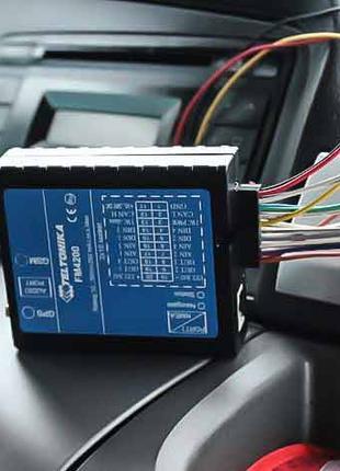 Монтаж GPS трекеров