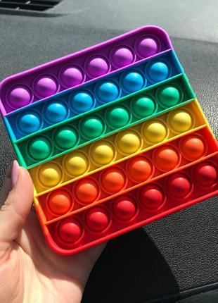 Антистрес іграшка pop it (квадрат) к. 041