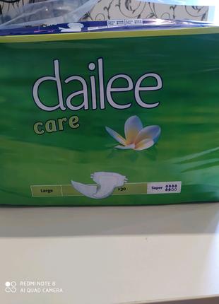Подгузники / памперсы для взрослых Dailee 30 шт. в упаковке