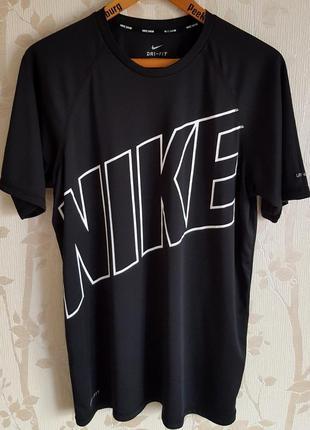 Компрессионная эластичная футболка nike dri-fit original