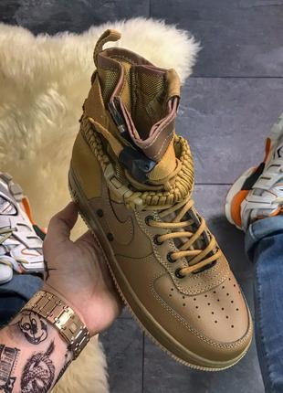 Nike air force special field brown, мужские кроссовки хайтопы ...