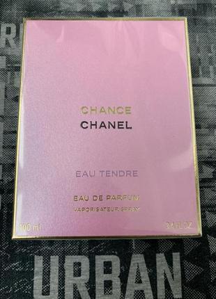 Chanel chance tendre edp eau de prfum 100 ml.
