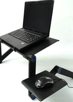 Столик для ноутбука - трансформер RXstyle Т8 с активным охлажд...