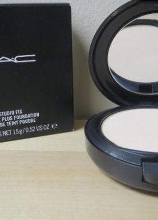 M.a.c studio fix powder матирующая компактная пудра основа для...