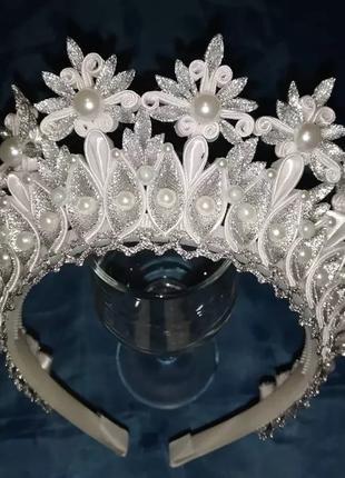 Новогодняя корона (диадема)