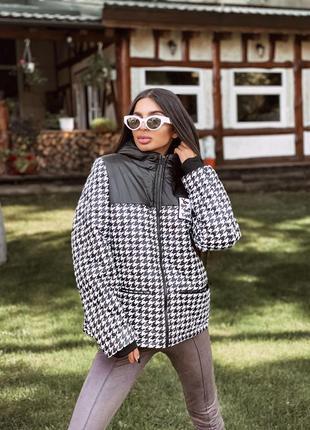 Шикарная куртка на силиконе осень