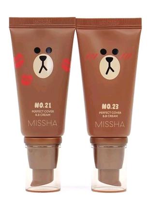 Тональний крем Missha M Perfect Cover BB Cream SPF42/PA+++ 23