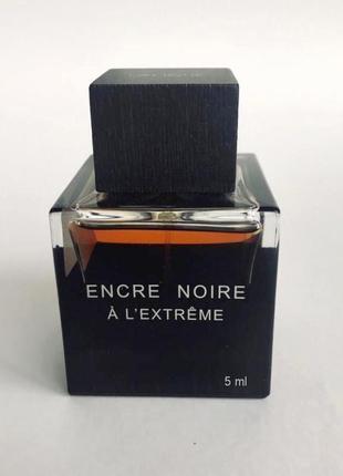 Lalique Encre Noire A l'extreme_Оригинал EDP_5 мл затест парф.вод