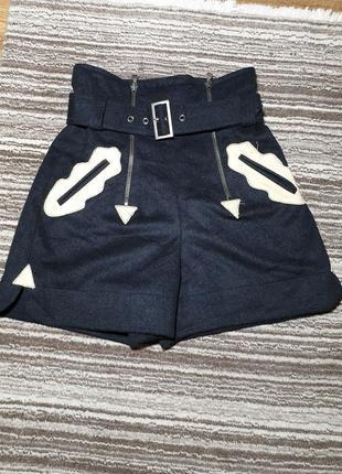 Теплые шорты с высокой посадкой от marc cain