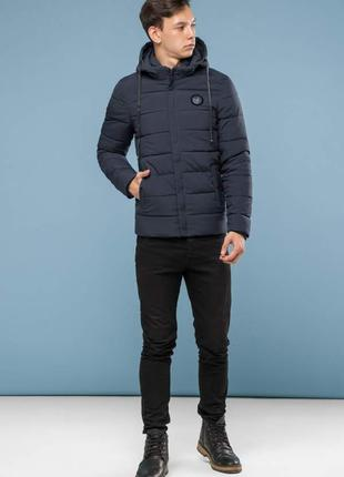 Зимняя короткая куртка для подростка на тинсулейте р.42-46