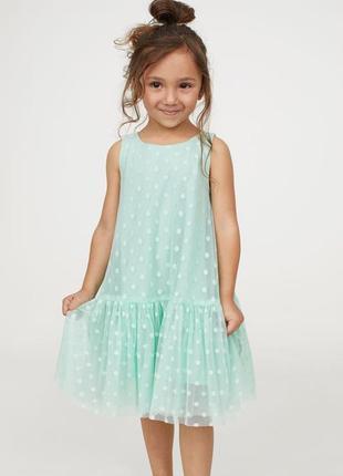 Платье h&m, р 140