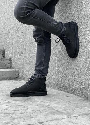 Ugg neumel boot! мужские замшевые зимние угги/ сапоги/ ботинки...