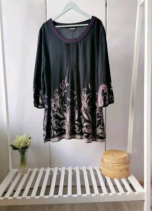 Новая вискозная рубашка COLLECTION Debenhams, р. 22